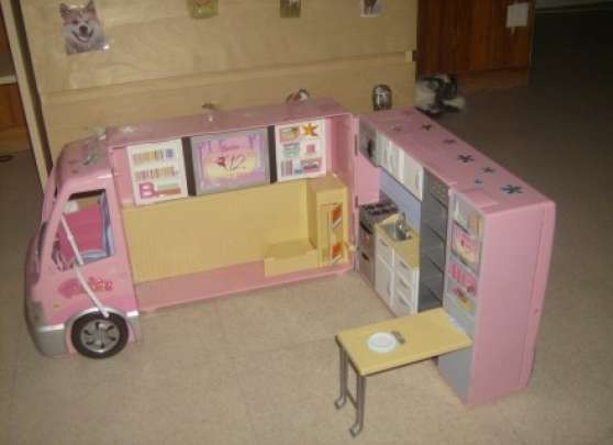 barbie maison camping car avion etc neuilly sur. Black Bedroom Furniture Sets. Home Design Ideas