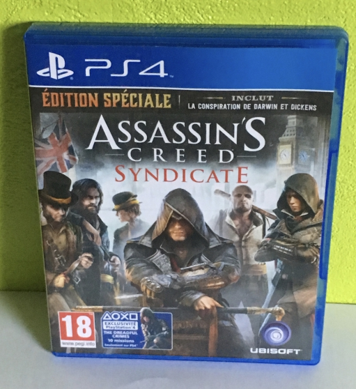 assassin's creed syndicate ps4 - Annonce gratuite marche.fr