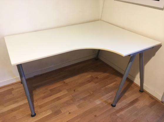 Bureau Ikea D Angle Blanc Galant Marche Fr