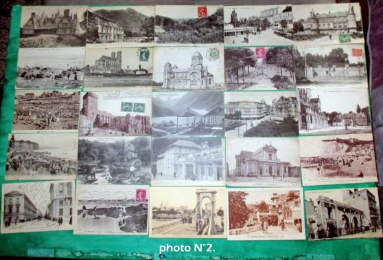 Annonce occasion, vente ou achat 'N°2--lot de 25 cartes postales anciennes'