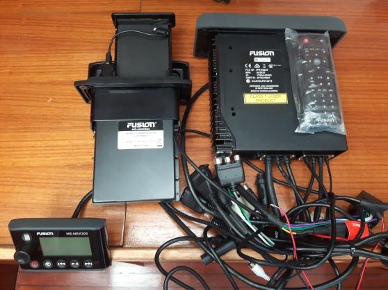 Radio FUSION Lazer MS-AV750 Set complet/