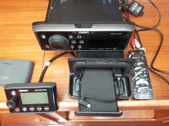FUSION Lazer MS-AV750 Set complet/