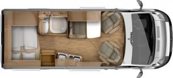 camping-car FIAT PöSSL 2Win - Photo 2