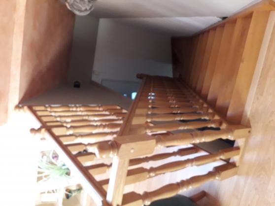 escalier chene massif