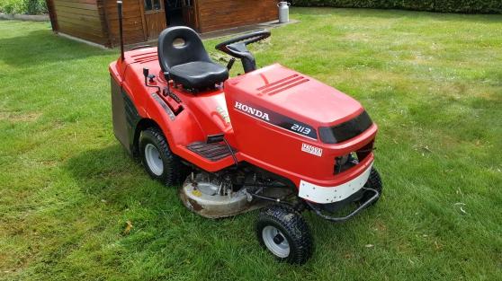 Tracteur tondeuse honda 2113