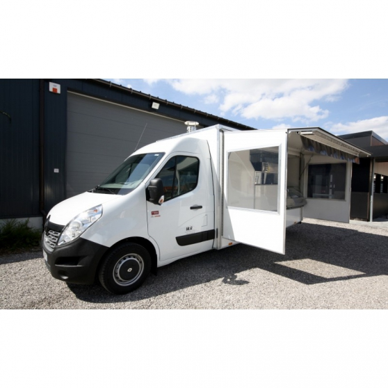 A donner Camion Magasin Pizza Renault