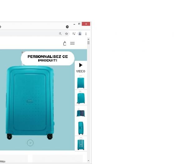 samsonite valise 79L