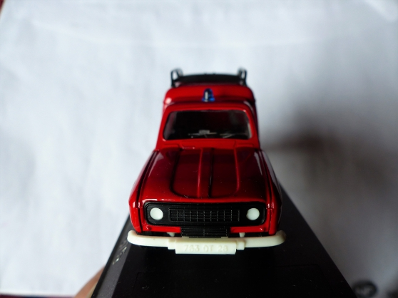 2 miniatures RENAULT R18- R4 F4 SOLIDO - Photo 4