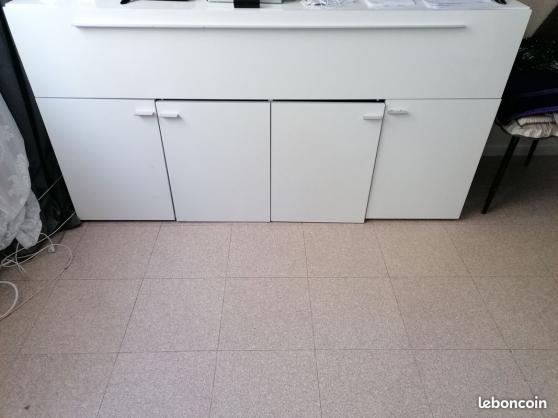 Bahut/meuble tv blanc l