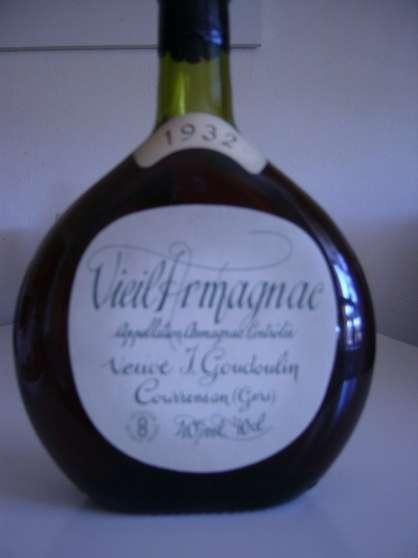 Vieil Armagnac Veuve J. Goudoulin 1932