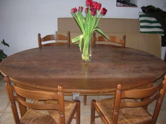 table ancienne noyer merisier antiquit art brocantes meubles anciens vignieu reference. Black Bedroom Furniture Sets. Home Design Ideas