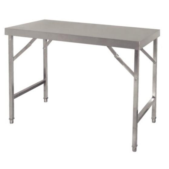 Table Inox Pliante Foires Et Marchés Neu Marche Fr