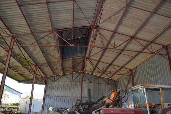 Bel hangar a demonter professionnels agriculture provins - Hangar d occasion a vendre ...