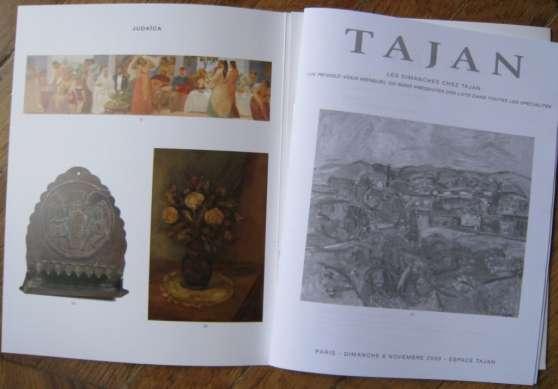 Annonce occasion, vente ou achat 'Catalogue vente aux encheres TAJAN - art'