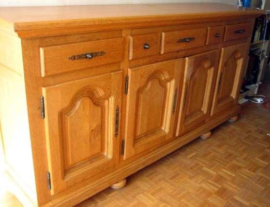 traite picarde buffet 4 portes chatou meubles. Black Bedroom Furniture Sets. Home Design Ideas