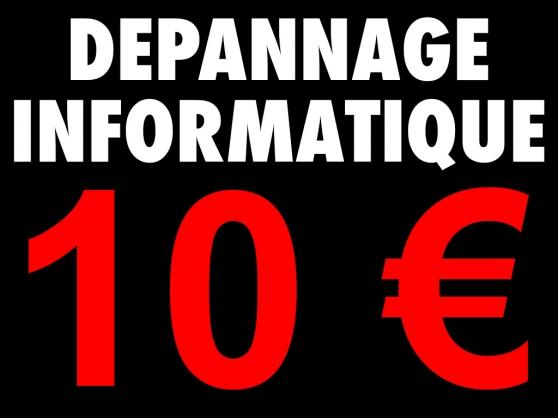 Annonce occasion, vente ou achat 'Dépannage assistance réparation informat'