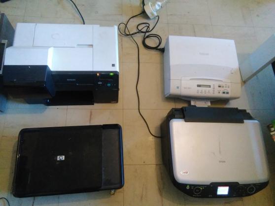 lot de 4 imprimantes pour pieces - Annonce gratuite marche.fr