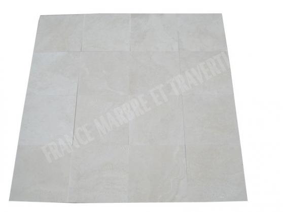 Travertin Ivoire 40x40x1.2cm 1e Choix