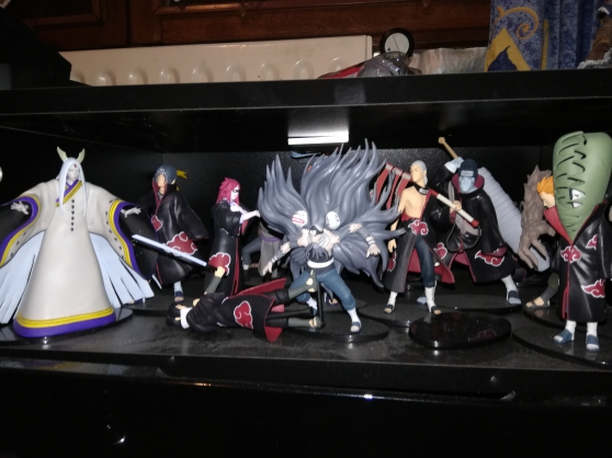 Annonce occasion, vente ou achat 'Collection intégrale figurines naruto'