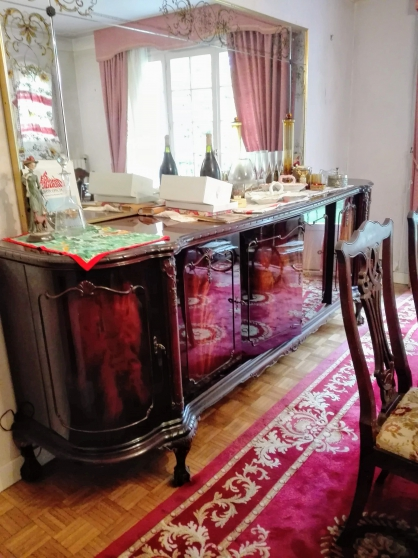 Enfilade anglaise chippendale