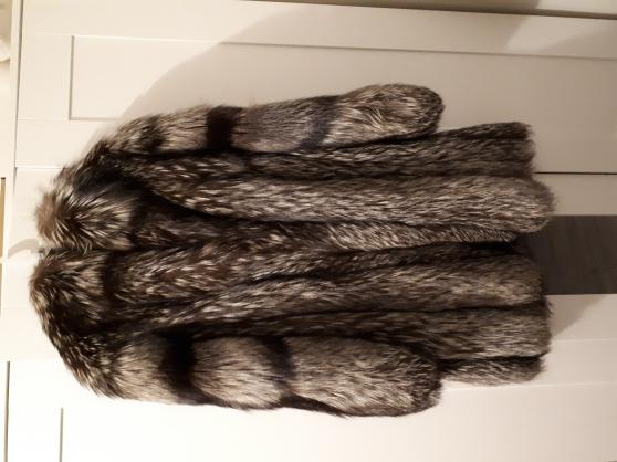 Manteau de fourrure Renard argenté