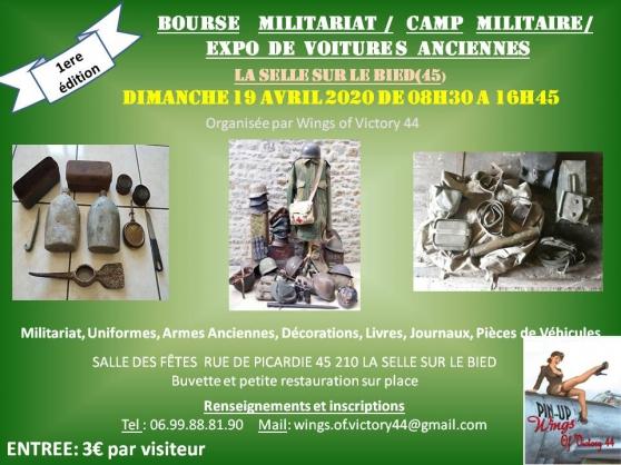 Annonce occasion, vente ou achat 'Bourse Militaria'