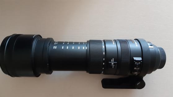 Objectif Sigma 50 500 monture Nikon