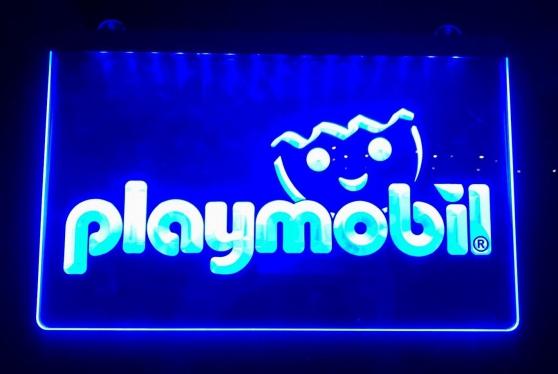 Enseigne lumineuse Playmobil