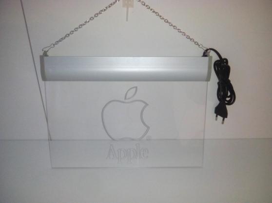 Enseigne lumineuse Apple - Photo 3