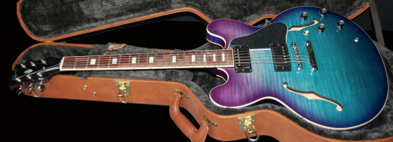 2019 - Gibson ES-335 Figured Blueberry B