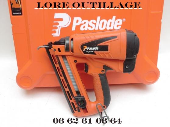 Annonce occasion, vente ou achat 'PASLODE IM65 F16 Cloueur de finition'