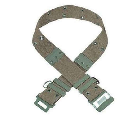 Ceinturon kaki + bretelles suspension