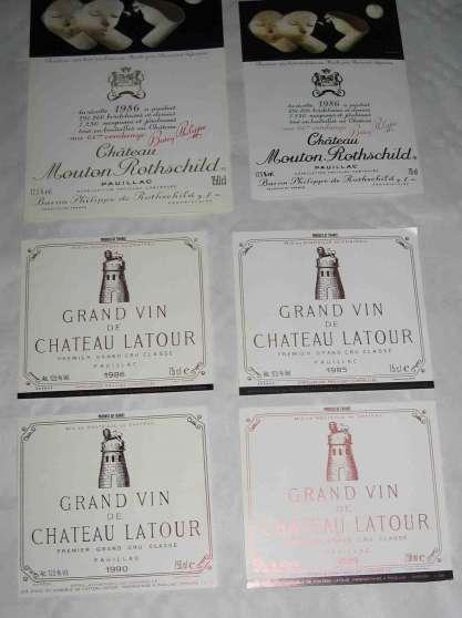 Annonce occasion, vente ou achat 'étiquettes vins label wine me contacter'