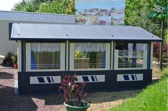 auvent pour mobil home gavray caravanes camping car mobile home gavray reference car mob. Black Bedroom Furniture Sets. Home Design Ideas