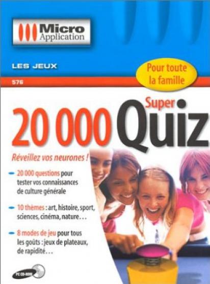 logiciel 20 000 super quiz de micro appl - Annonce gratuite marche.fr