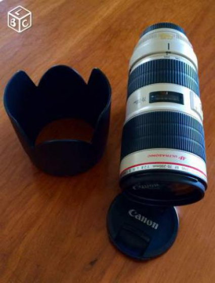 Objectif Canon 70-200 mm f/2.8 L IS USM