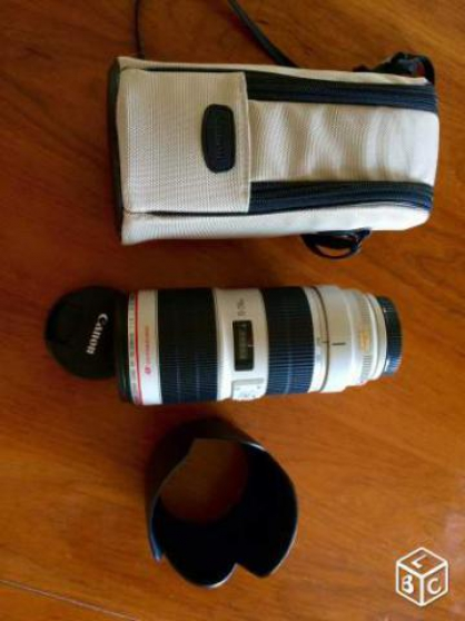 Objectif Canon 70-200 mm f/2.8 L IS USM - Photo 2