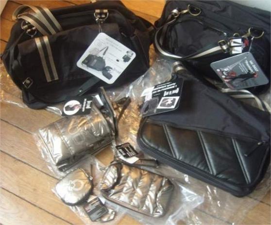 Annonce occasion, vente ou achat '6 sacs multi-fonctions pour bébé NEUF'