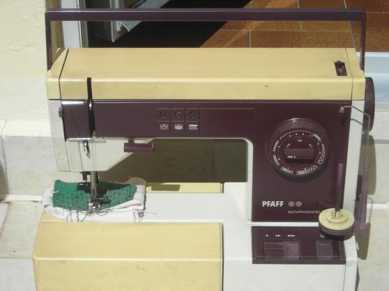 Annonce occasion, vente ou achat 'Machine à coudre PFAFF synchrotronic1229'