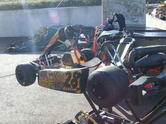 Annonce occasion, vente ou achat 'karting 125 intrépide moteur rotax'