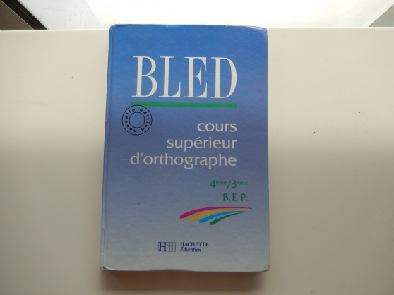 Annonce occasion, vente ou achat 'BLED 4EME/3EME/BEP'
