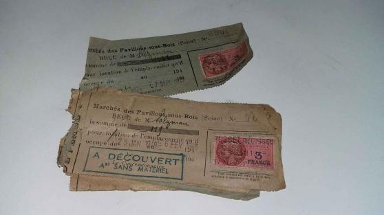 Annonce occasion, vente ou achat '8 tickets de marché des pavillons sous b'