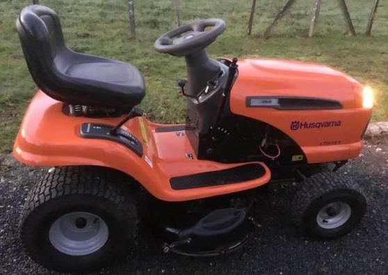 tracteur tondeuse hydrostatiqu husqvarna à nice - Annonce gratuite marche.fr