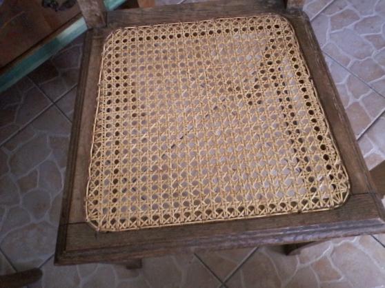reparration chaises cannage