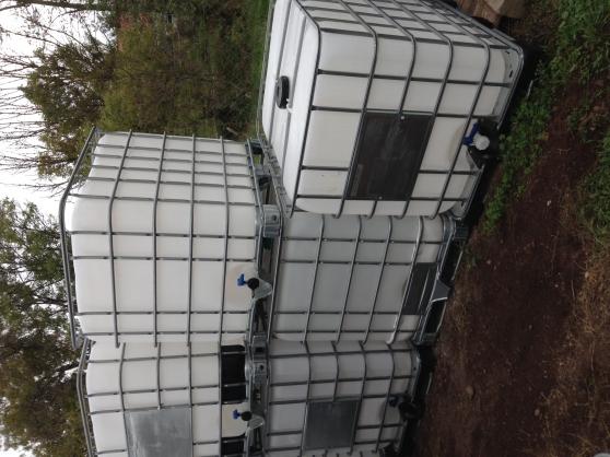 Annonce occasion, vente ou achat 'Cuves ou containers de 1000, 600 litres'