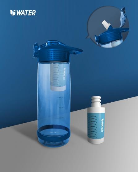Remove bacteria portable bottle filter