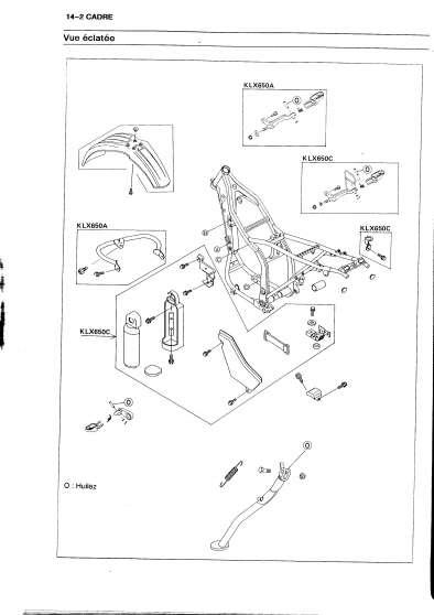 revue technique moto 650 klx moto scooter v lo kawasaki toulouse reference mot kaw rev. Black Bedroom Furniture Sets. Home Design Ideas