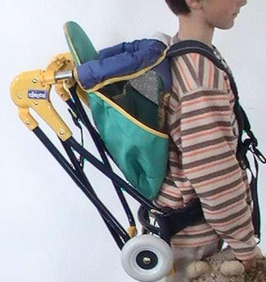 Porte bébé dorsal pour randonnée chicco à Les Sorinières - Marche.fr 65e8d386c2e
