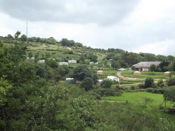 mobil home camping à la ferme