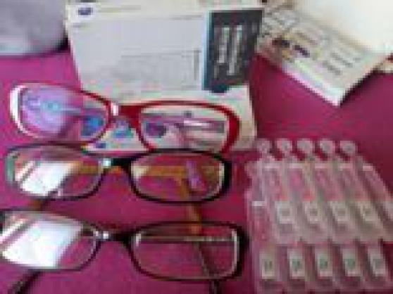 lunette de vue et lentilles